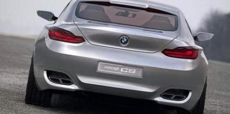 BMW CS Concept - BMW 8 Series Rear