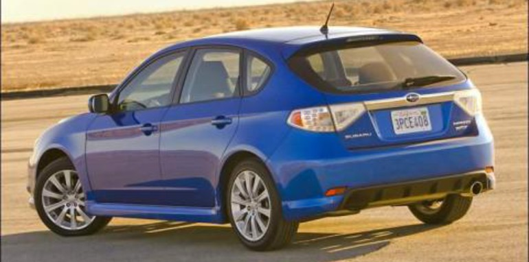 2008 Subaru Impreza WRX Hatch Rear