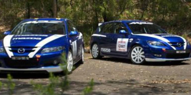 Mazda 3 MPS Targa Tasmania