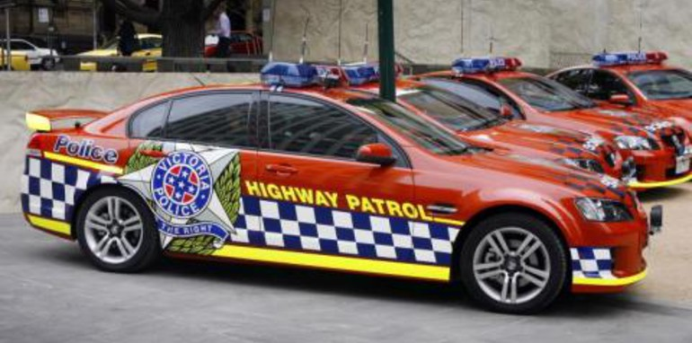 Victorian Police Force Holden VE SS Commodore