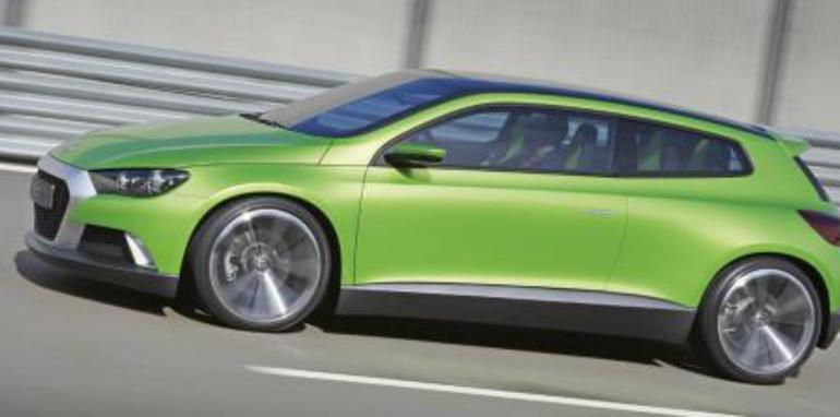 Volkswagen Scirocco Side
