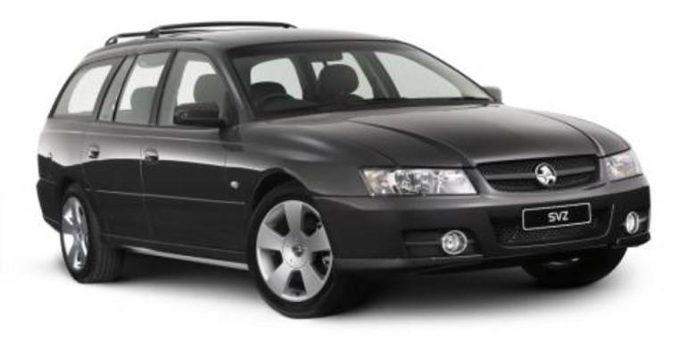 2007 Holden Commodore SVZ Wagon