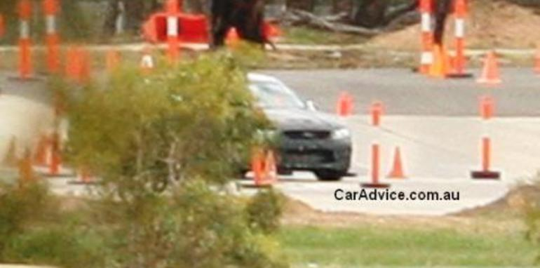 2008 Ford Falcon Front Spyshots