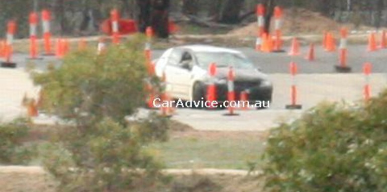 2008 Ford Falcon Spy Shots