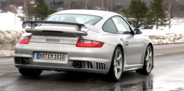 2008 Porsche GT2 Rear