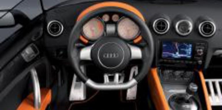 Audi TT Clubsport Quattro Concept Interior