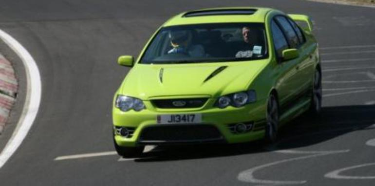 FPV GT-P Laps the 'ring