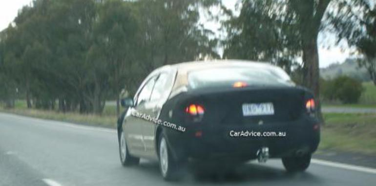 2008 Ford Falcon 'Orion' Spy Shots