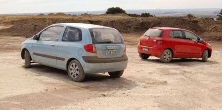 Hyundai getz vs peugeot 206