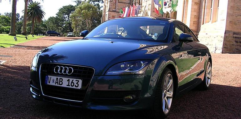 2007 audi tt coupe 3 2 quattro s tronic road test caradvice. Black Bedroom Furniture Sets. Home Design Ideas