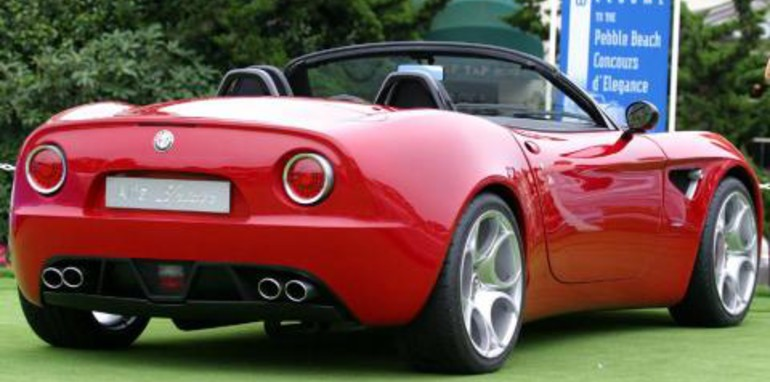 Alfa 8C Spider Set For Production