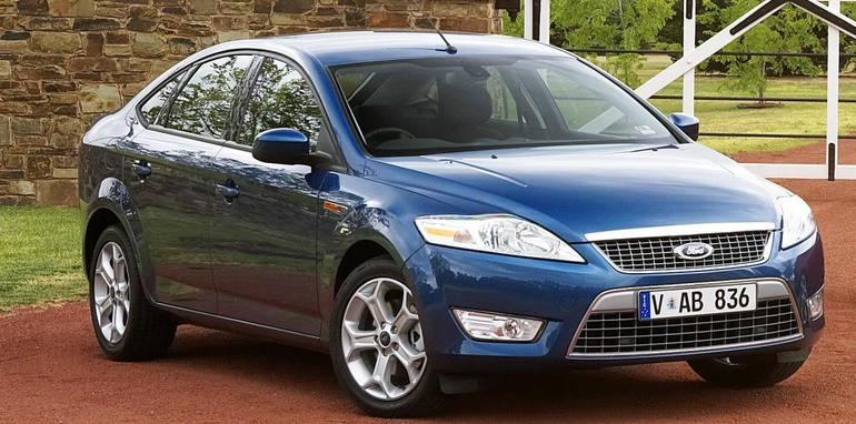 ford, mondeo, 2008