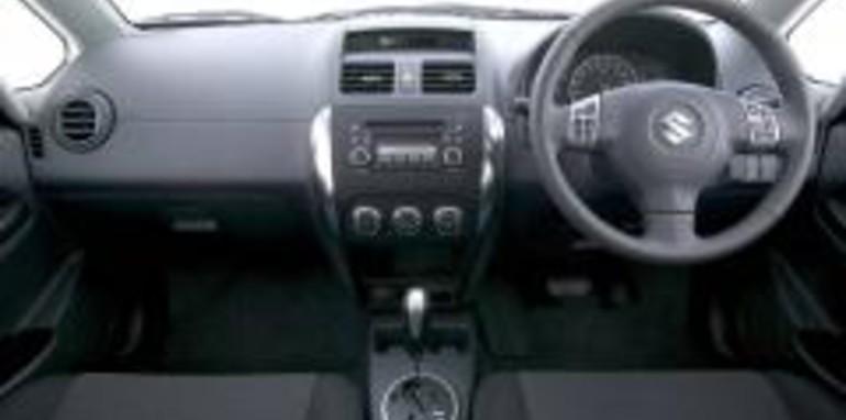 Suzuki SX4 Sedan Interior