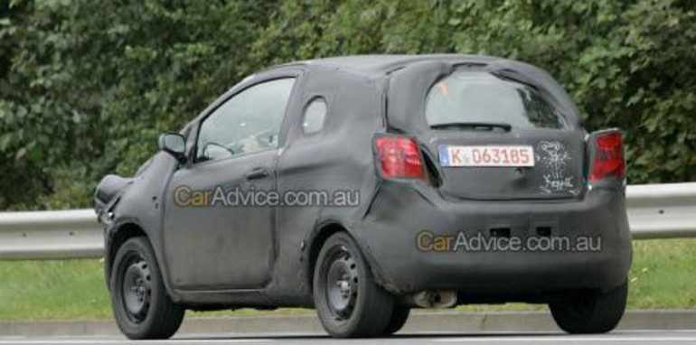 2008 Ford Ka spy photos