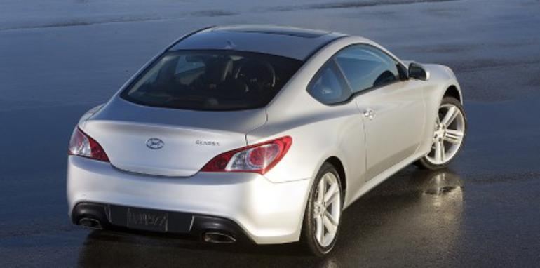 Hyundai Genesis Coupe Revealed