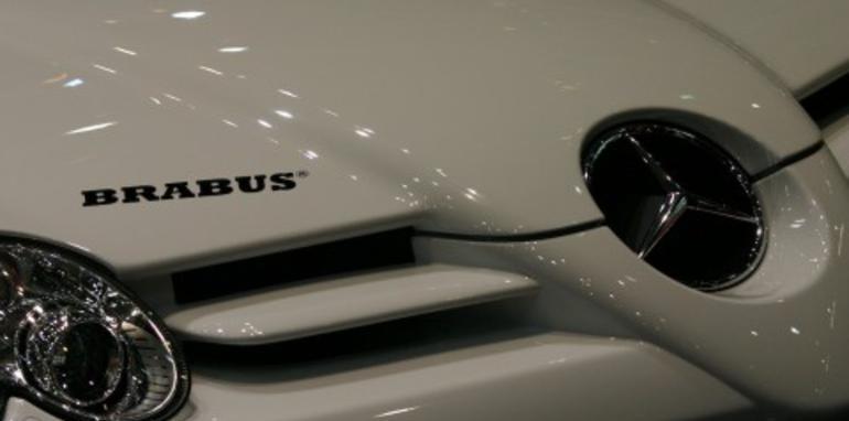 Brabus SLR Roadster 2008 Geneva Motor Show