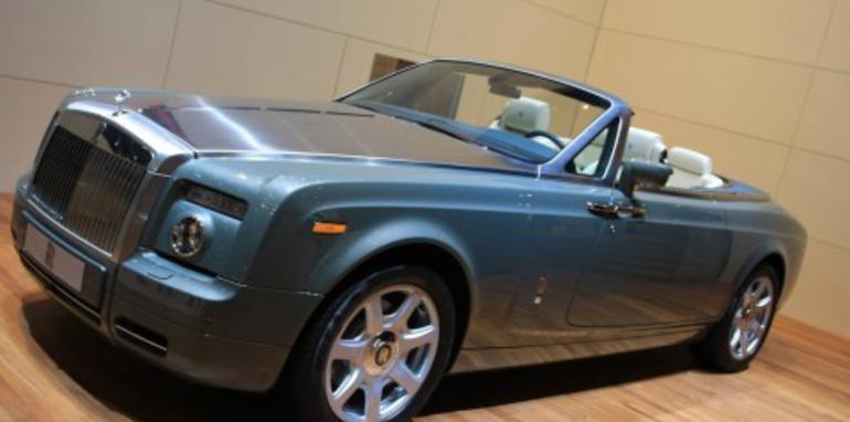 Rolls Royce stand 2008 Geneva Motor Show