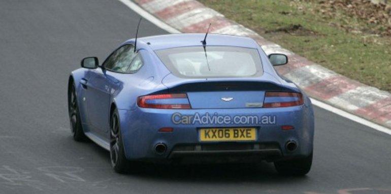 Aston Martin V12 Vantage RS spy photos
