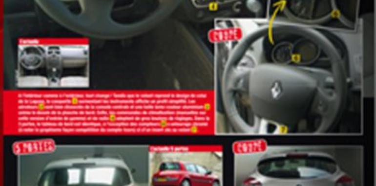 2009 Renault Megane spied