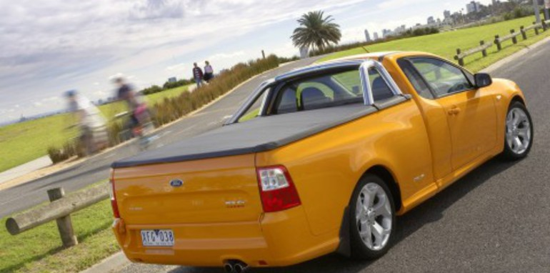 2008 Ford FG Falcon XR6 Turbo Ute