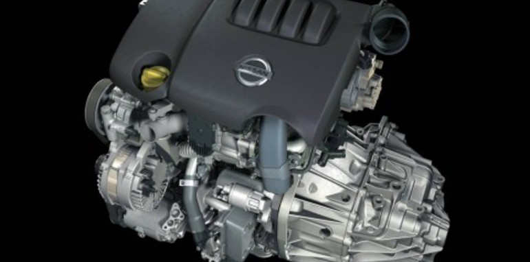 2008 Nissan X-TRAIL diesel engine