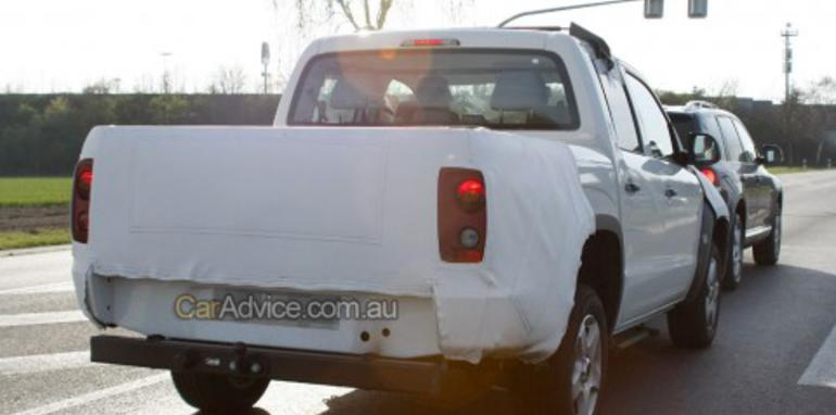 Volkswagen Ute (Robust) spy photos