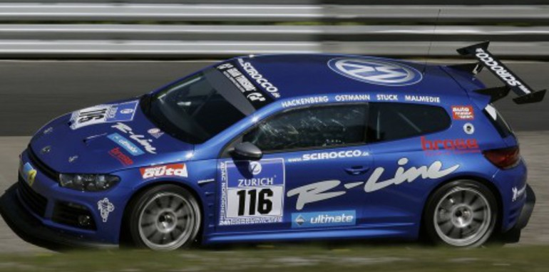 VW Scirocco 24-hour Nurburgring race