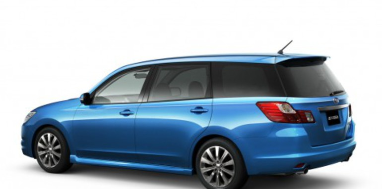Subaru official reveals 7-Seat Exiga MPV