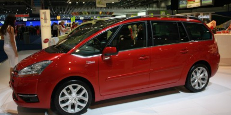 citroen c4 picasso 2008 london motorshow gallery. Black Bedroom Furniture Sets. Home Design Ideas