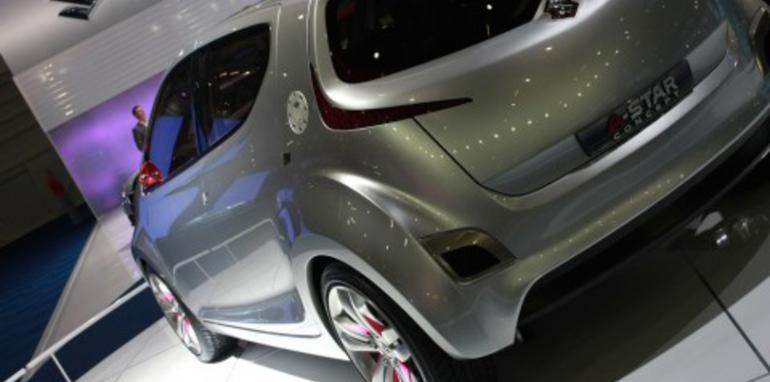 Suzuki A Star Concept 2008 London Motorshow