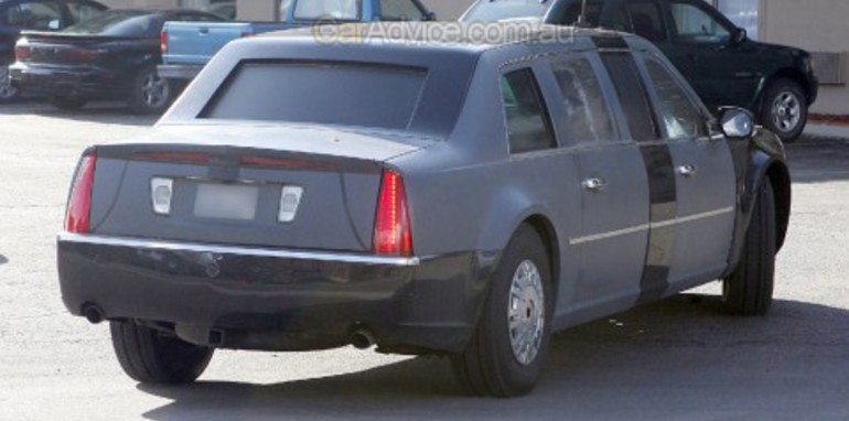 Cadillac One - the President's new ride!