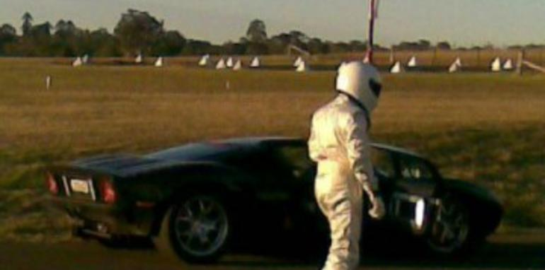 Stig spotted in Australia