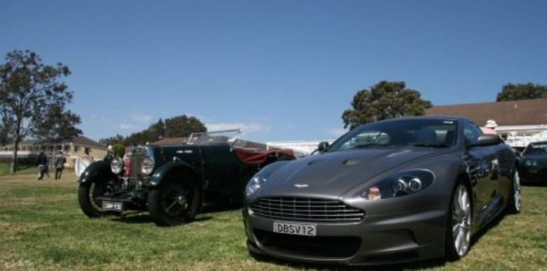 2008 Aston Martin Owner's Club gathering