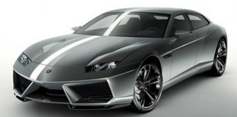 Lamborghini Estroque four-door concept leaked