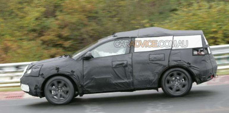 Mystery Acura crossover spied on Nurburgring