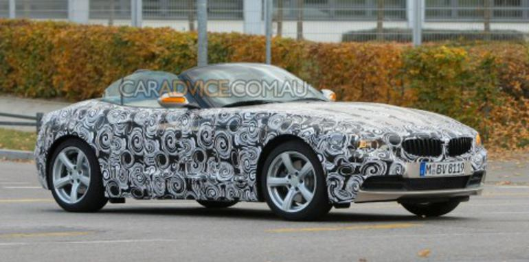 2009 BMW Z4 spied and rendered