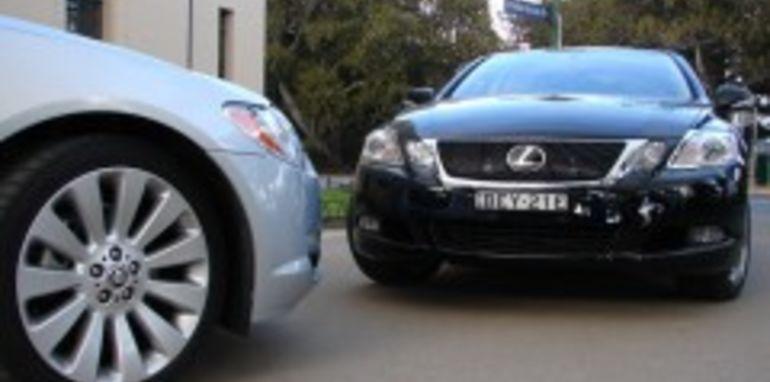 2008 Jaguar XF V8 vs Lexus GS460