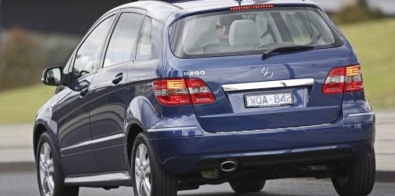 2008 Mercedes-Benz B-Class range