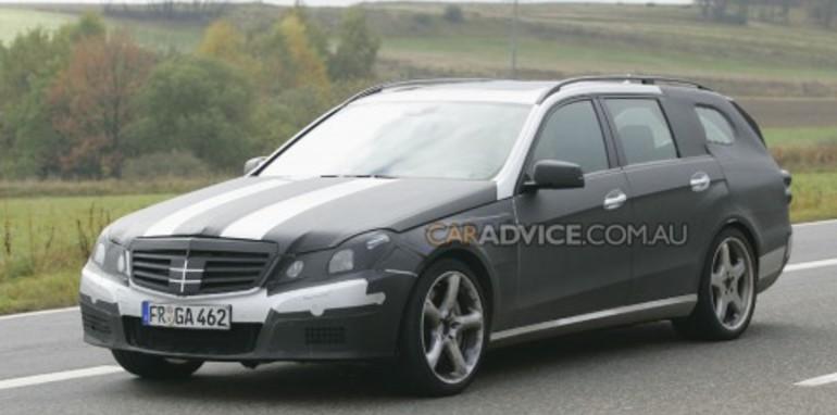 2010 Mercedes-Benz E63 AMG Estate spied