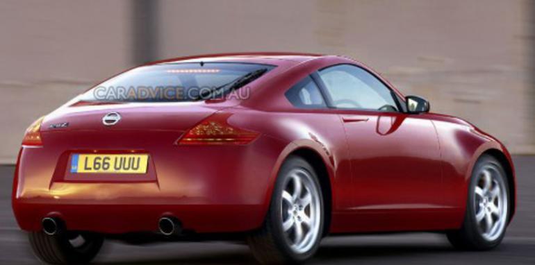 2011 Nissan 370Z spy shots and CGI