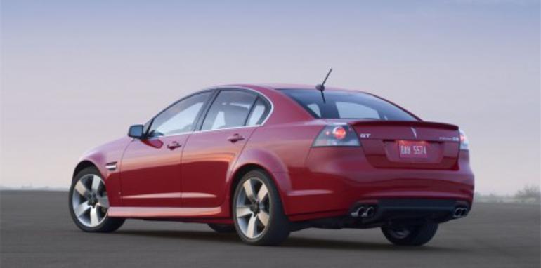 Pontiac to drop VE-based G8 range?