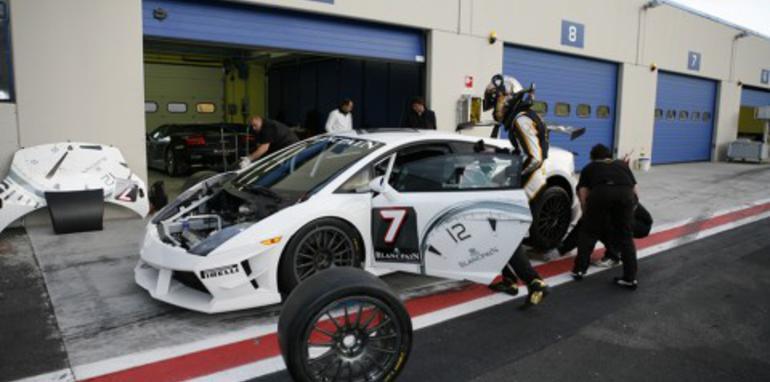 Lamborghini Super Trofeo put through its paces