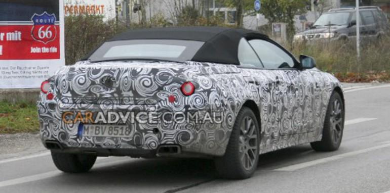 2009 BMW 6 Series cabriolet spied