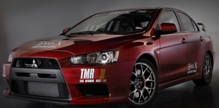 Mitsubishi Lancer Evolution TMR SST Club-Spec