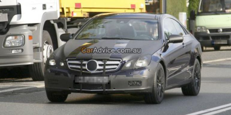 2009 Mercedes-Benz CLK Spy Photos