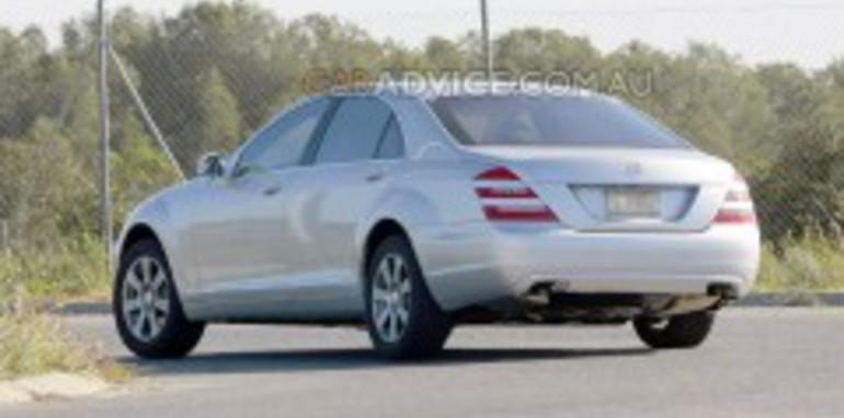 2009 Mercedes-Benz S-Class facelift spied