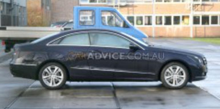 2009 Mercedes-Benz CLK Coupe spied