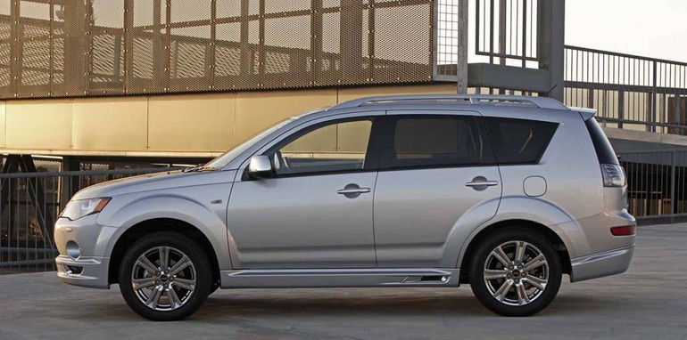 2009 Mitsubishi Outlander RX