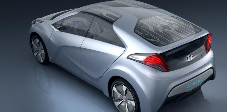 Hyundai unveils BLUE-WILL hybrid concept