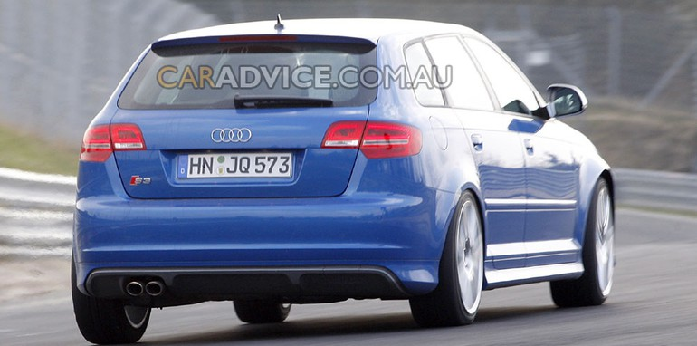 2010 Audi RS3 spied at Nürburgring